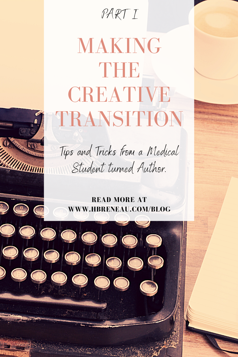 Making the Creative Transition, Part I