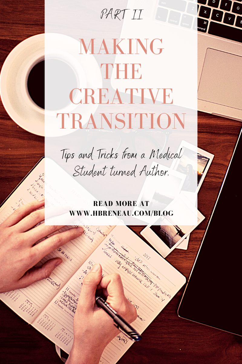 Making the Creative Transition, Part II